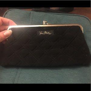 Vera Bradley Black Wallet